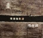 Du désert aux traces du passé - Technique mixte sur toile - 130x97 - 1993.jpg