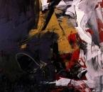 En t'attendant un soir - Acrylique sur toile - 116x89 - 1992 - Collection Musée Abello, Mollet del Valles, Barcelone, Espagne.JPG