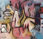 Entre elle et moi -  Acrylique sur toile - 92x65 - 1990.jpg