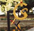 Femina XC - Sculpture matériaux mixtes polychromes - Non daté.jpg