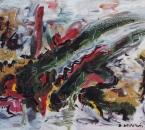 Le coq fou - Huile sur toile - 55x38 - Non daté - Collection particulière.jpg