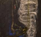 Le merveilleux chant de l'ombre - Acrylique et sable sur toile - 81x60 - 1993.jpg