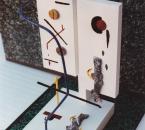 Liaisons et ruptures (1) - Sculpture bois et métal polychrome - Non daté.jpg