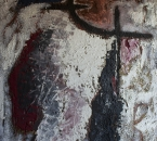 Sans titre - Acrylique et sable sur toile - 92x73 - 1992.jpg