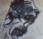 Sans titre - Acrylique, sable et plâtre sur toile - 81x65 - 1992.jpg
