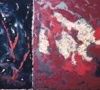 Sans titre - Technique mixte sur toile - 92x73 - 1992 - Collection particulière.jpg