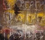 Twelve glasses - huile sur toile - 73x54 - 1993.jpg