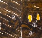 Diptyque - Sans titre - Acrylique Et Pigments Sur Toile - 146x92 - 2002.jpg