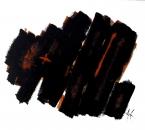 OPACITE TRANSPARENCE IV - Acrylique Et Pigments Sur Toile - 130x97 - 2002.jpg