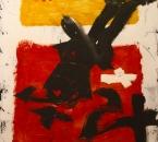 Peinture N°17 - Technique mixte sur toile - 116x89 - 2004.jpg
