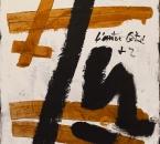 Peinture N°9 - Technique mixte sur toile - 92X73 - 2003.jpg