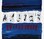 SANS TITRE - Acrylique Et Collage Sur Toile - 81x65 - 2002.JPG