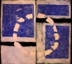 Sans tire - Acrylique Et Collage Sur Carton  contrecollé sur panneau bois - 200x183 - 2001.jpg