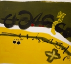 Sans titre - Acrylique Et Pigments Sur Toile - 100x81 - 2002.jpg