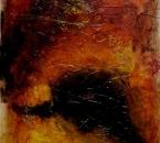 Sans titre - Technique mixte sur toile - 100x73 - 2002 - Collection particulière.JPG