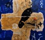 PEINTURE N°35 - TECHNIQUE MIXTE SUR PANNEAU BOIS - 65x57 - 2009.jpg