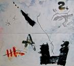Peinture N°39b - Acrylique sur toile - 200x150 - 2009
