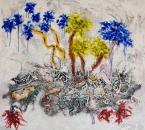 Peinture No 118 - Technique mixte sur panneau bois - 100x100 - 09-2015.jpg