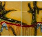 Peinture No 121 - Technique mixte sur toile - 240x150 - 2015.jpg