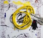 Peinture No 144  - Technique mixte sur toile - 100x100 - 2017.jpg