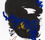 Leçons de Ténèbres pour le Jeudi Saint - Troisième leçon - Encre, acrylique et crayon sur papier - 48x36 - 05-2020.jpg