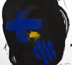 Leçons de Ténèbres pour le Vendredi Saint - Première leçon - Encre, acrylique et crayon sur papier - 48x36 - 05-2020.jpg