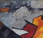 Composition - Gouache, Acrylique et jute sur papier - 65x50 - Non daté.jpg