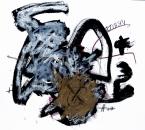 Sans Titre - Encre, Acrylique, Huile et Crayon sur Papier 22 - 41x33 - 10-2010.jpg