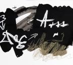Sans Titre - Encre, Huile et Crayon Sur Papier 15 - 24x32 - 7-2010.jpg