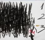Sans Titre - Fusain, Huile Et Crayon sur Papier 43 - 24x32 - 04-2011.jpg
