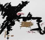Sans Titre -  Huile et Crayon Sur Papier 66 - 50x65 - 5-2011.jpg