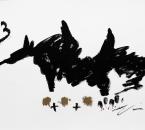 Sans Titre -  Huile et Crayon Sur Papier 68 - 50x65 - 5-2011.jpg