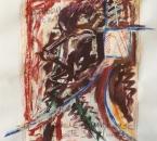 Sans titre 2 - Gouache et crayon de couleurs - D'après  Solitudes d'André Soum poète -1986.jpg