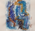 Sans titre 4 - Gouache et crayon de couleurs - D'après  Solitudes d'André Soum poète -1986 - Collection particulière.jpg