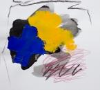 Sans titre - Acrylique et crayon sur papier 281 - 40x40 cm - 2019.jpg