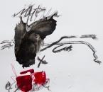 Sans titre - Acrylique et crayon sur papier 282 - 40x40 cm - 2019.jpg