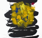 Sans titre - Encre, acrylique, huile et graphite sur papier 270 - 76x56 - 2018.jpg
