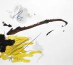 Sans titre - Encre, brou de noix, huile, pigment et crayon sur papier 120 - 65x50 - 2014.JPG