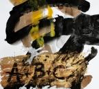 Sans titre - Encre, brou de noix, pigment, huile et collage sur papier 127 - 50x70 - 2014.JPG