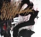 Sans titre - Encre, crayon, acrylique et huile sur papier 89 - 65x50 - 2014.JPG