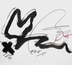 Sans titre - Encre, crayon et huile sur papier 178 - 50x65 - 2016.jpg
