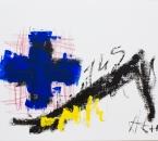 Sans titre - Huile et crayon sur papier 284 - 41x33 cm - 2010-2019.jpg