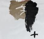 Sans titre - Pigment, brou de noix, huile et crayon sur papier 144 - 50x70 - 2014.JPG