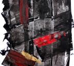 Sans titre - Pigment et huile sur papier 139 - 50x70 - 2014.JPG