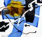 Sans titre - Pigments, encre, huile et crayon sur papier 136 - 50x65 - 2014.JPG