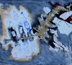 Sans titre - Technique mixte sur papier 149 - 65x50 - 2014 - Collection particulière Antoine Seel.JPG