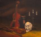 2eme Symphonie (hommage a Gustav Mahler) - Huile sur toile - 116x81 - 1983.jpg