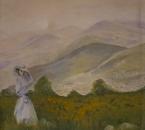 Jeune fille au chapeau (Patricia) - Huile sur toile - 55x38 -1984.jpg