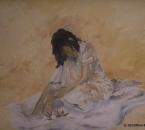 Jeune fille aux roses (Patricia) - Huile sur toile - 55x38 - 1984.jpg