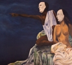 Masques - Huile sur toile - 116x81 - 1983.jpg